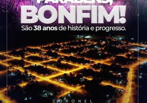 Parabéns, Bonfim!