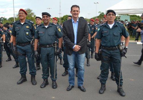 POLÍCIA MILITAR - Chagas comemora lançamento de concurso com 400 vagas